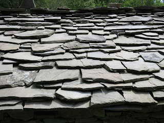 Stone roof called 'tetto in piagne'