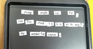 photo of DIY Magnetic Poetry Kits @ Runde's Room