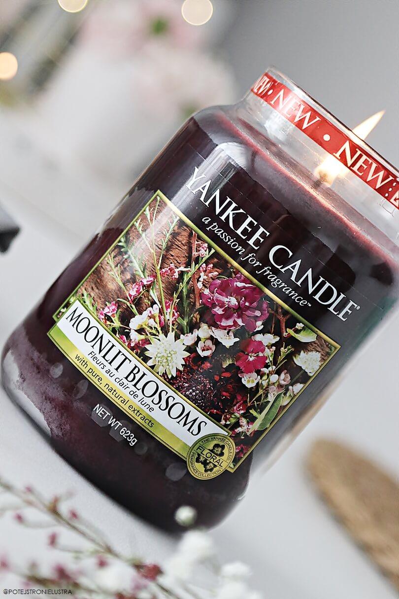 yankee candle moonlit blossoms świeca zapachowa