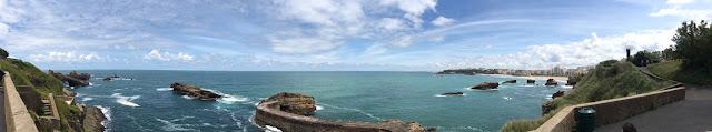 Biarritz côte et plage