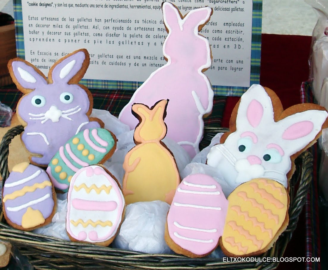 El Txoko Dulce Sugar Cookies Galletas Decoradas