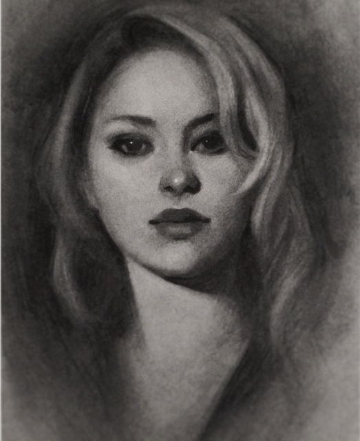 04-Gabrielle-Brickey-Strength-and-Purpose-through Charcoal-Portraits-www-designstack-co