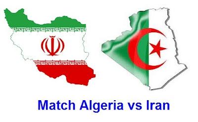 ميعاد وترددات القنوات الناقلة لمشاهدة مباراة الجزائر و ايران بث مباشر اليوم Match Iran vs Algeria