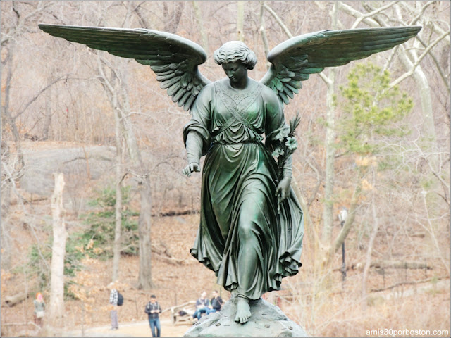 Angel of the Water en la Bethesda Fountain de Central Park