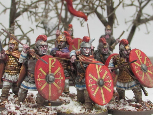 The Brit, The Yank, and The Hobby, The Dark Ages with Footsore Miniatures