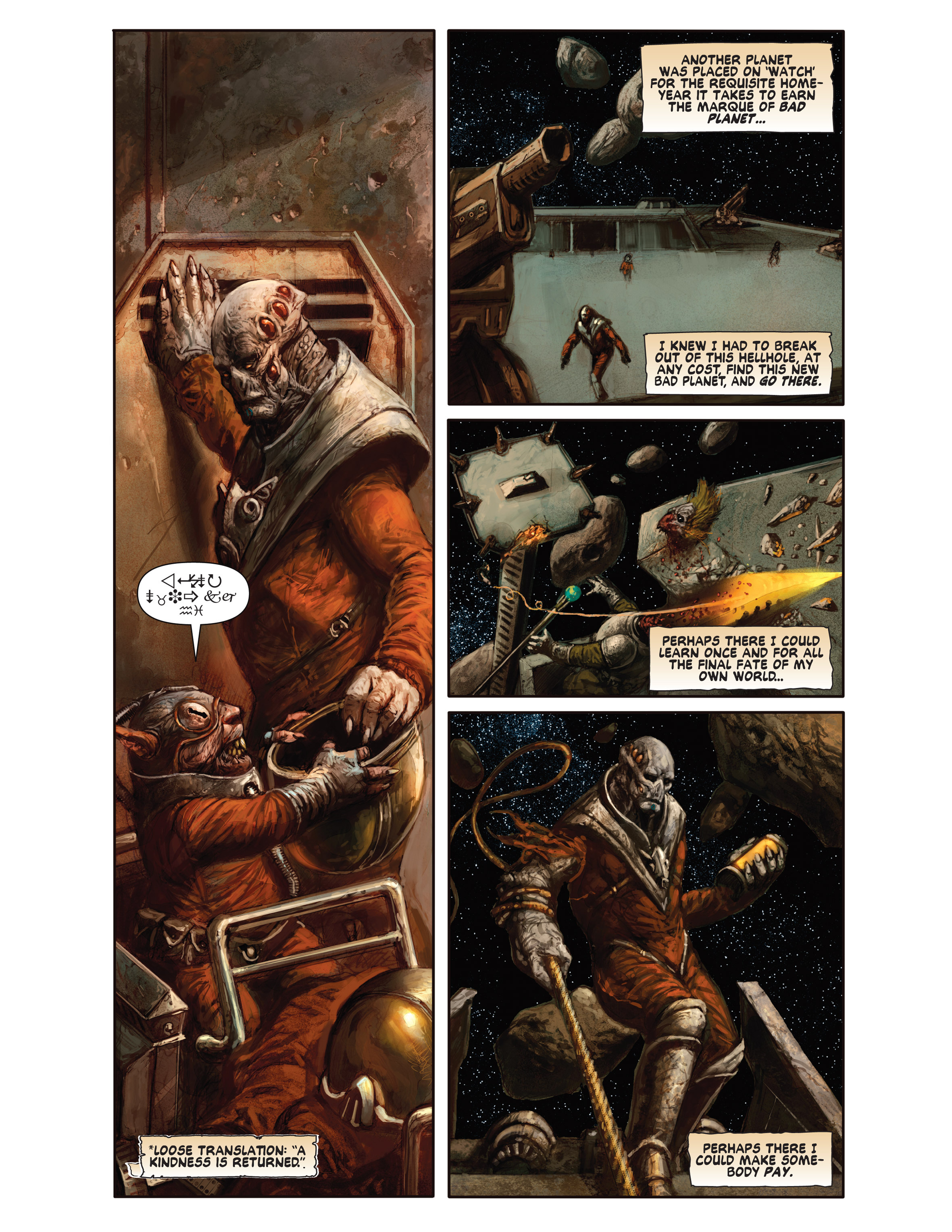 Read online Bad Planet comic -  Issue # TPB - 108