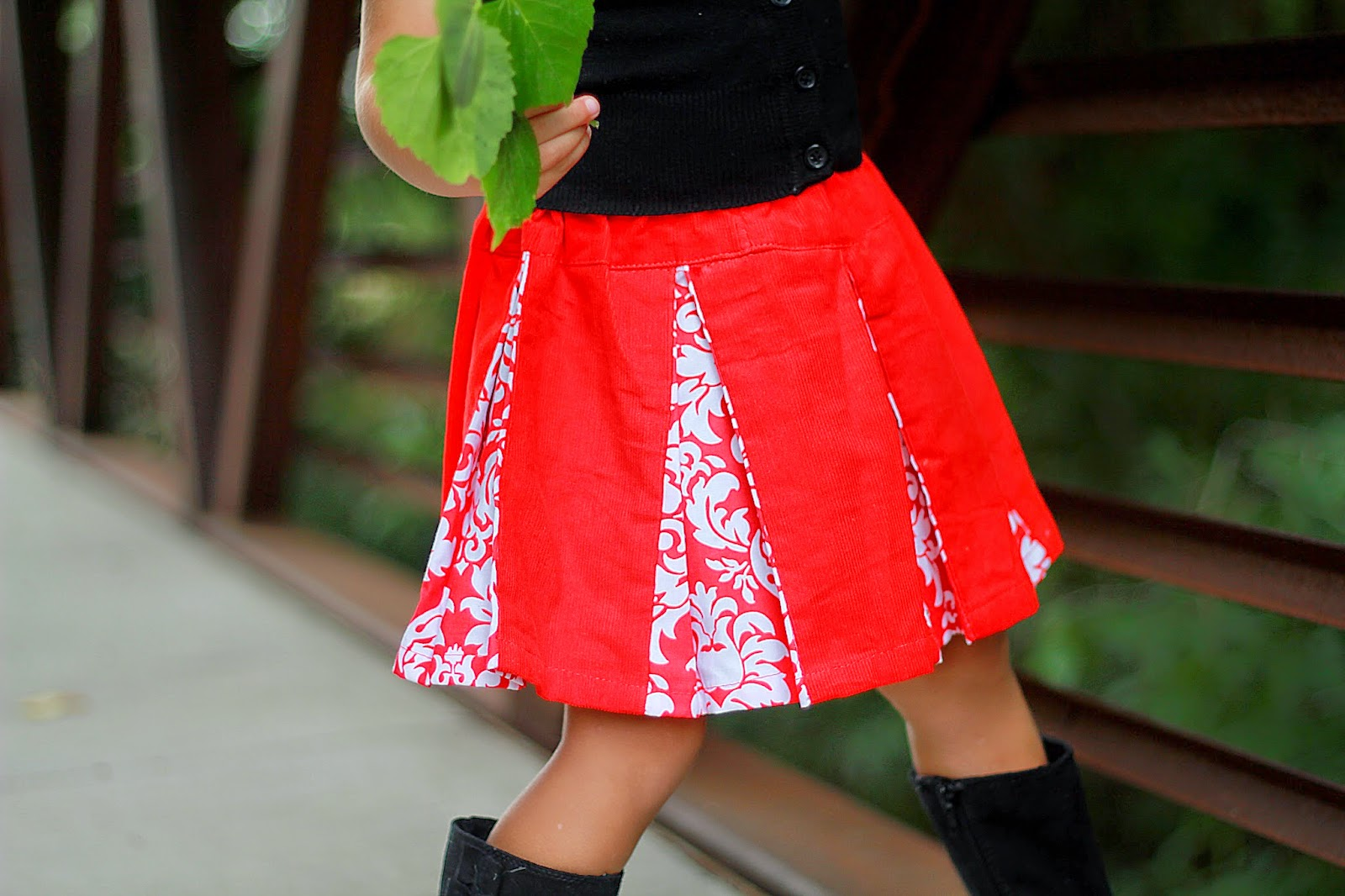 Sewing Patterns for Girls Dresses and Skirts: Girl's Skirt ...