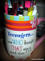 organizing my homeschool supplies - January Plans on Homeschool Coffee Break @ kympossibleblog.blogspot.com