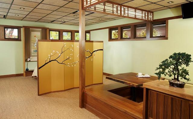 Model Desain Ruang Makan Ala Jepang