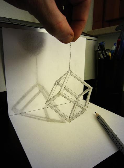 ilusi gambar 3 dimensi yang keren dan menakjubkan serta kreatif-34