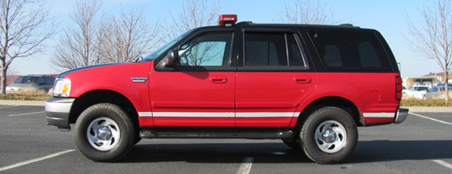 fire line equipment 2002 ford expedition command vehicle for sale. Black Bedroom Furniture Sets. Home Design Ideas
