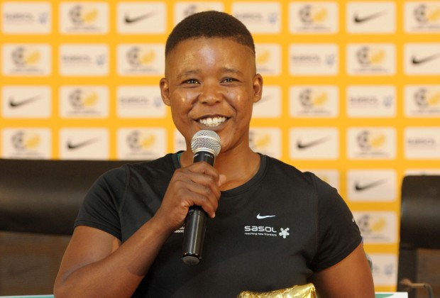 Banyana Banyana legend and record scorer, Portia Modise