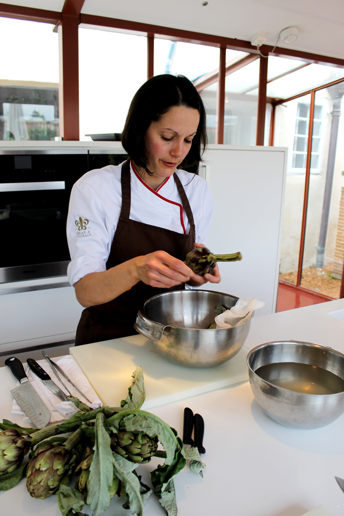 bordeaux; cooking; cooking class; bordeaux cooking; michelin chef; le saint james bouliac;