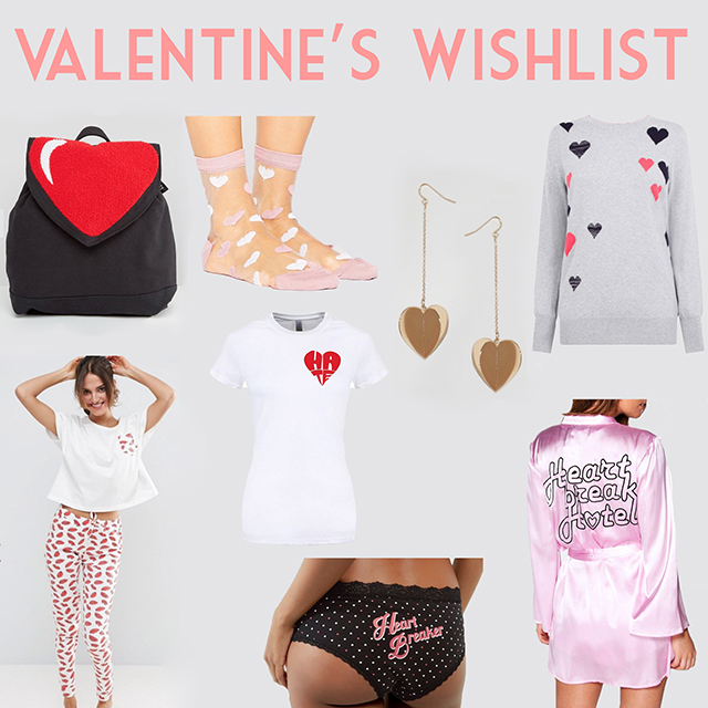 valentines wishlist
