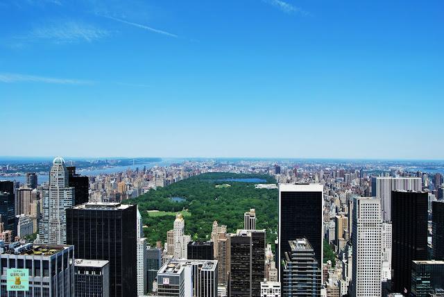 Vistas desde Top of the Rock, Nueva York