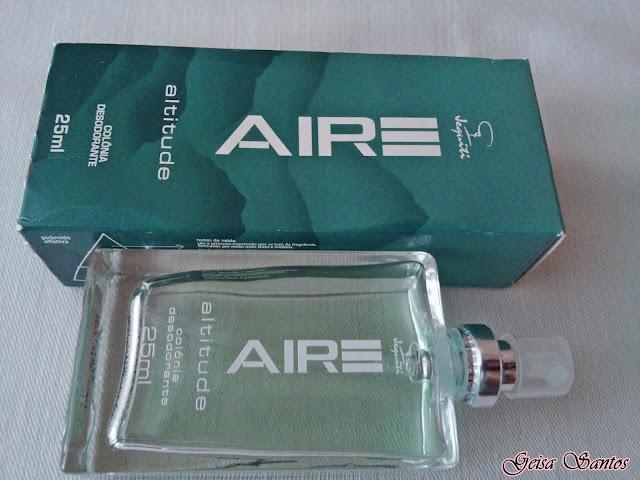 Comprei e gostei: Colônia Desodorante Aire Jequiti