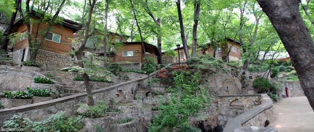 Residencias de los monjes budistas del templo Gilsangsa