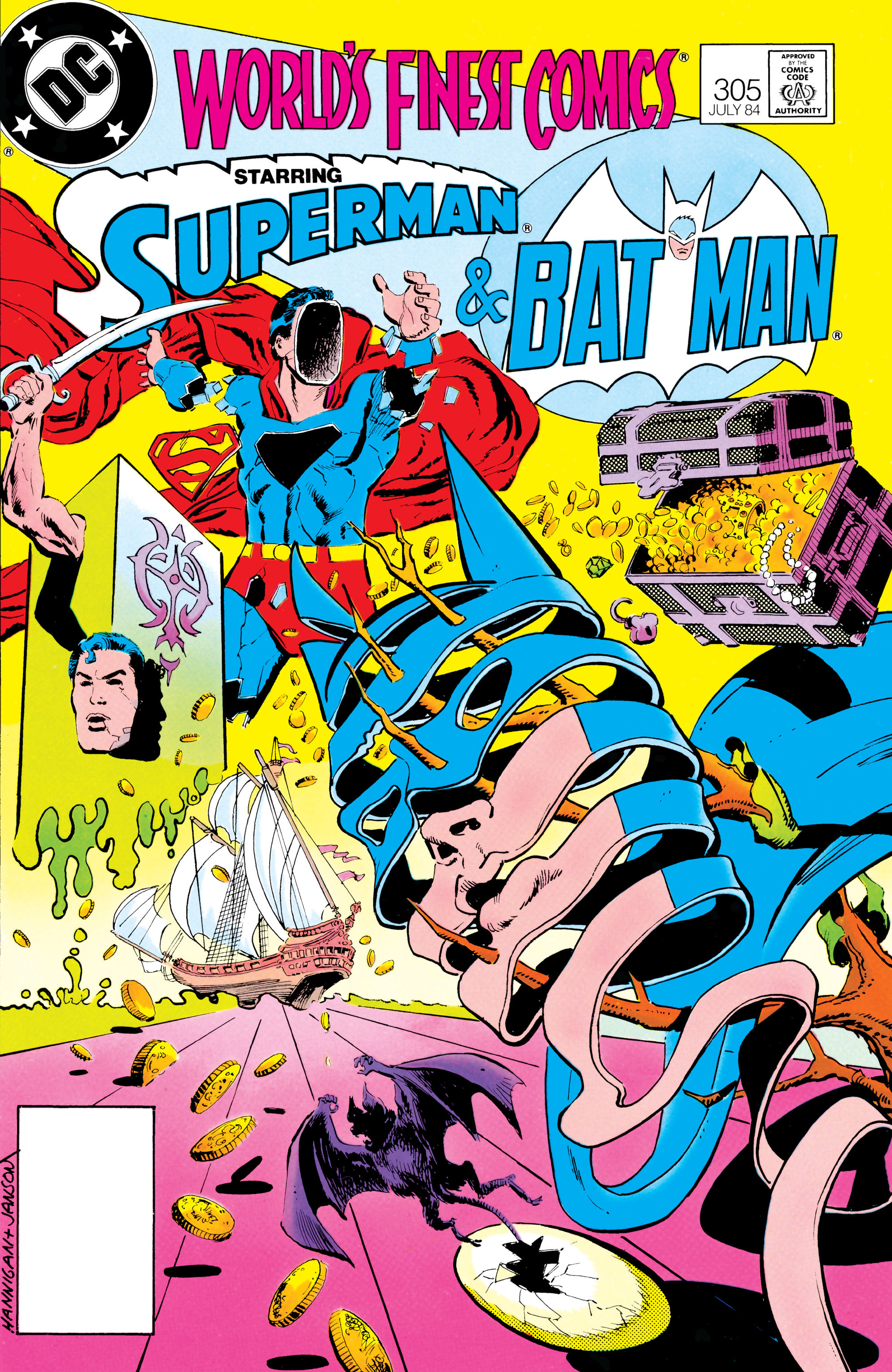 Read online World's Finest Comics comic -  Issue #305 - 1