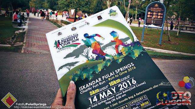 Iskandar Pulai Springs Charity Fun Run - Run to Give 2016