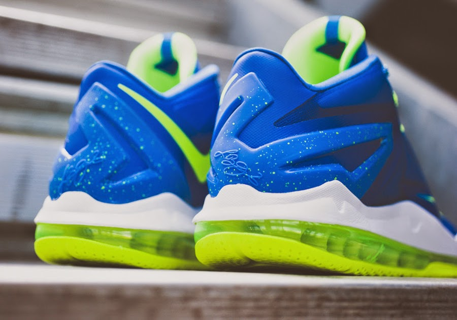 info for b8cfd 9a671 Nike Lebron 11 Low Sprite Dos
