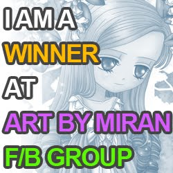 Winner at Art by MiRan FB August Progressive Challenge