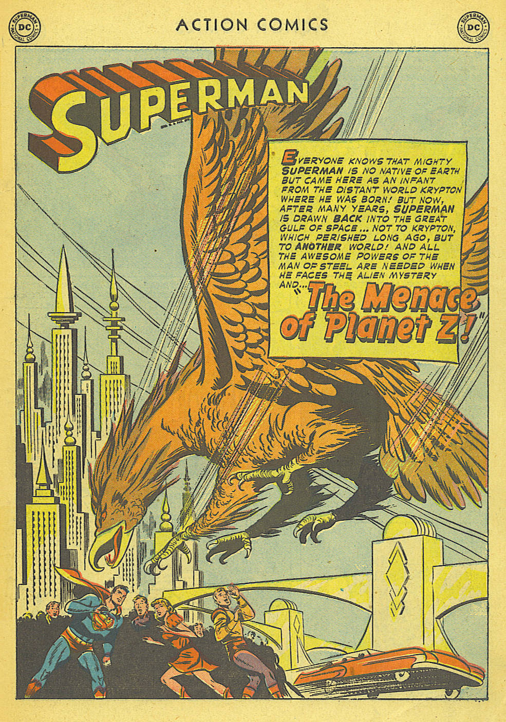 Read online Action Comics (1938) comic -  Issue #168 - 2