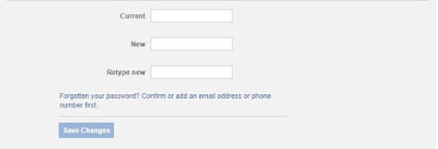 Change Fb Password