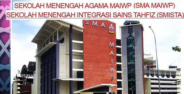 Permohonan SMA MAIWP Dan SMISTA 2017 online