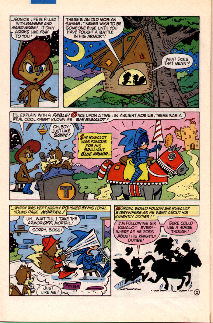Read online Sonic The Hedgehog comic -  Issue #22 - 21