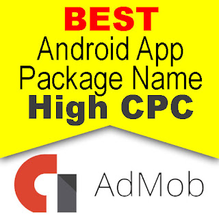 Best Android Package Name for AdMob 2019