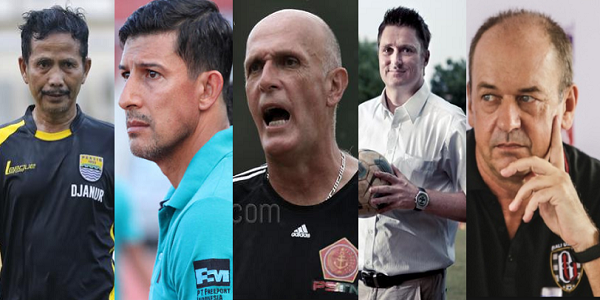 Sudah 5 Pelatih yang Tumbang Korban Keganasan Liga 1 Musim 2017