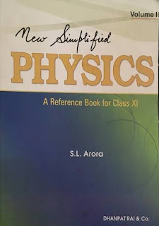 PHYSICS:- A REFERENCE BOOK FOR CLASS 11 VOLUME 2