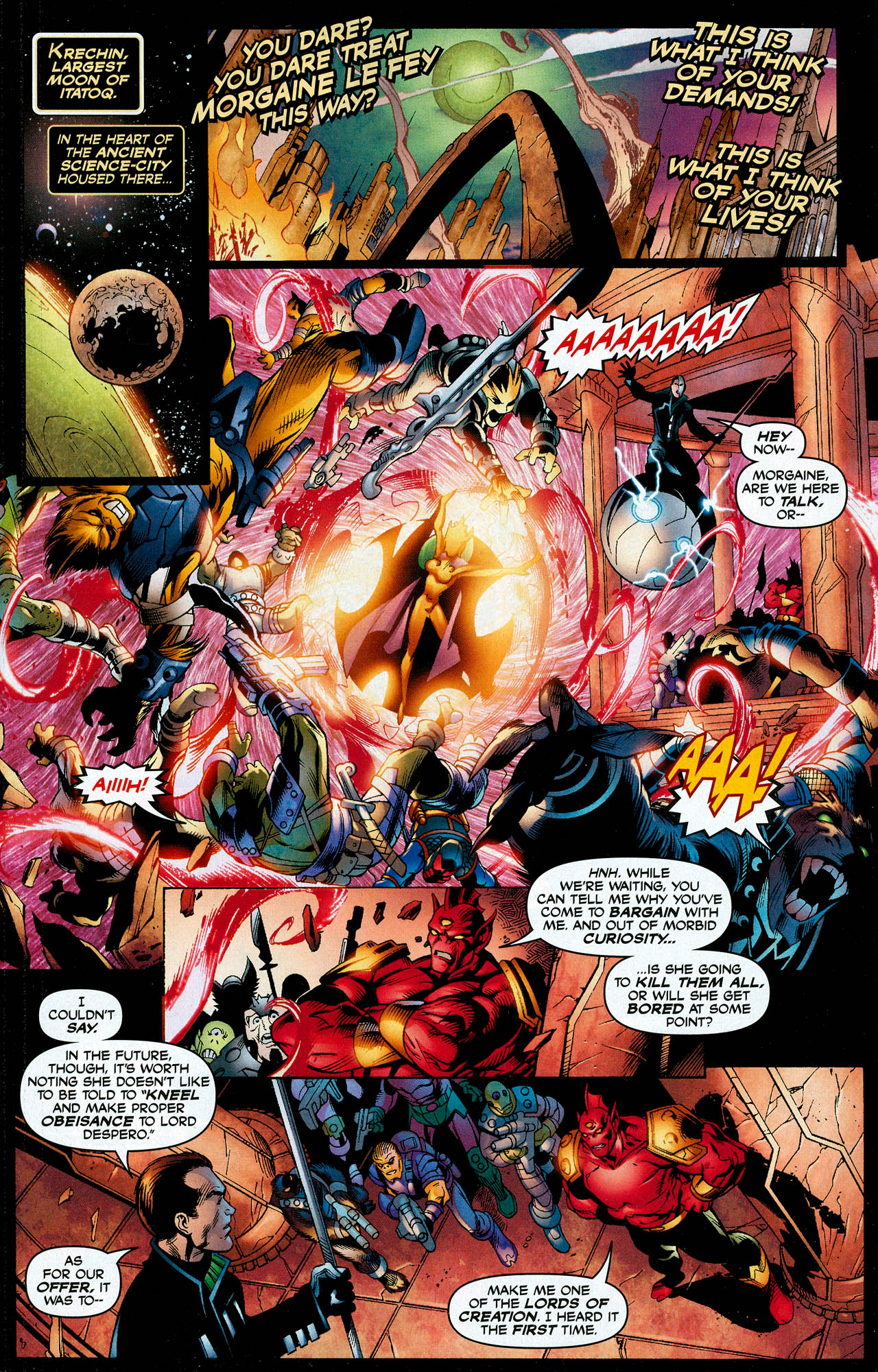 Read online Trinity (2008) comic -  Issue #8 - 3