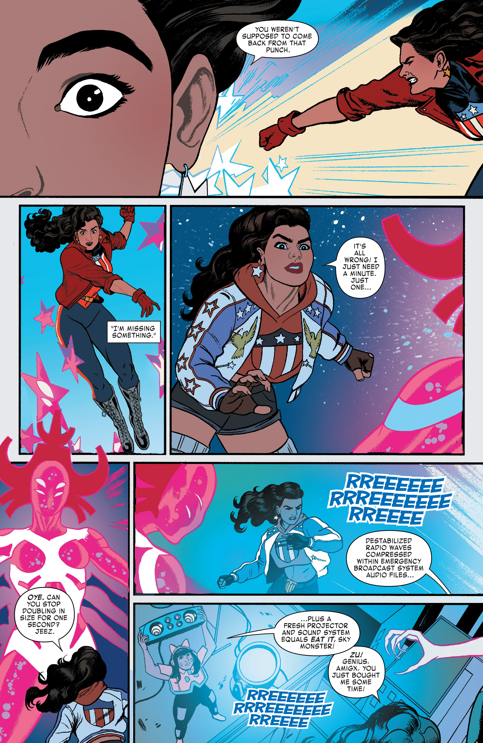 Read online America (2016) comic -  Issue #4 - 7