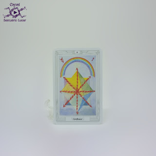 The Thoth Tarot (Sterling Ethos) - 8 of Wands