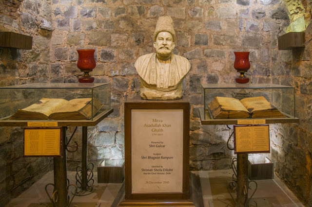 Mirza Ghalib ki Haveli - rediscovered through the realm of time...