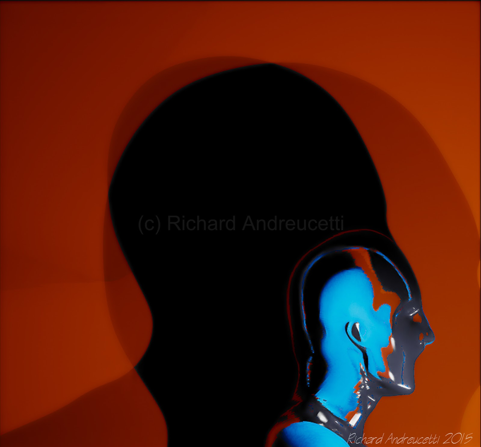 irish abstract artists, album cover artist richard andreucetti, andreucettidesignstudio