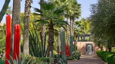 Jardines de La Mamounia, un oasis protegido por las murallas de Marrakech