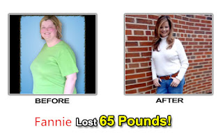 Fannie use Lida Slimming lose weight succeed