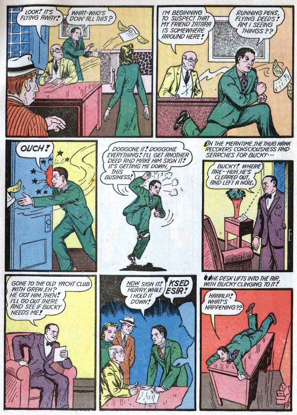 Read online Action Comics (1938) comic -  Issue #40 - 63