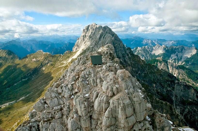 منزل جبلي في الألب