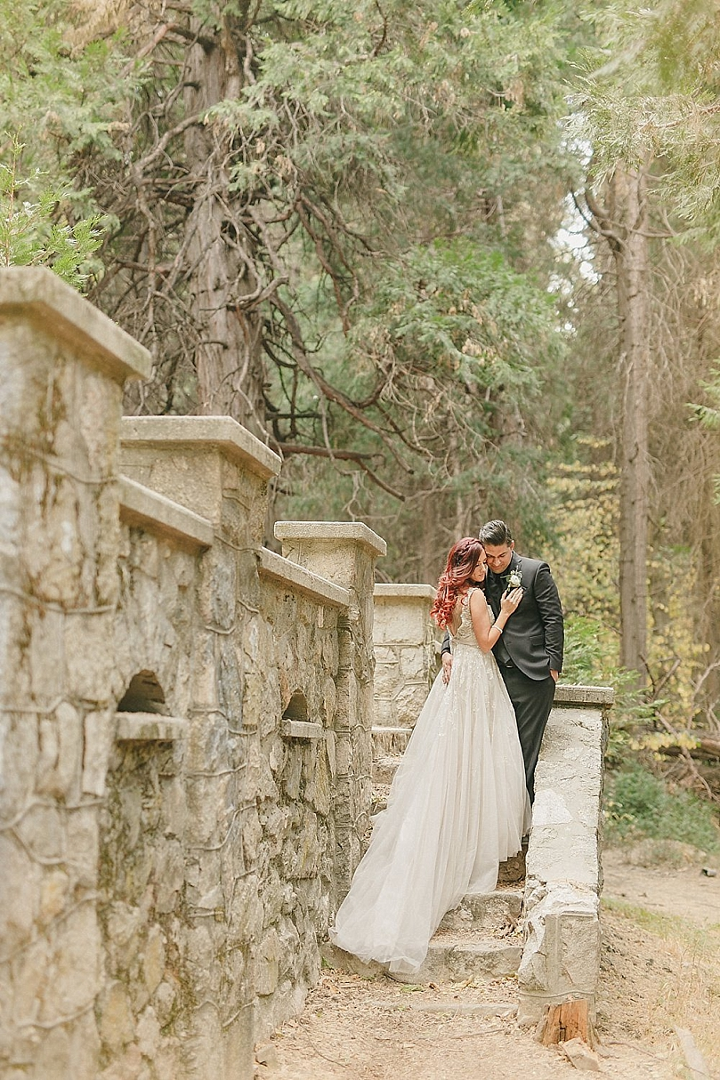 Intimate Fairytale Wedding In The Forest Southern