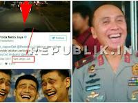Kocak, Bilang Penyebar Chat Habib dari Luar Negeri, Polisi Lupa Pernah Operasikan Akun Dari Luar Negeri Juga?
