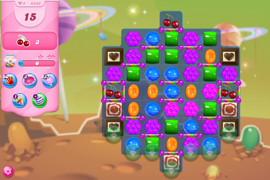 Candy Crush Saga level 4236