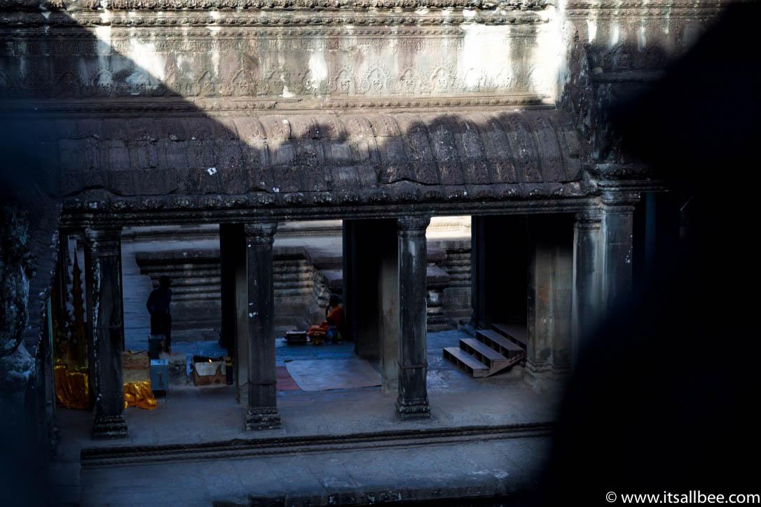Exploring Angkor Wat At Sunrise In Siem Reap