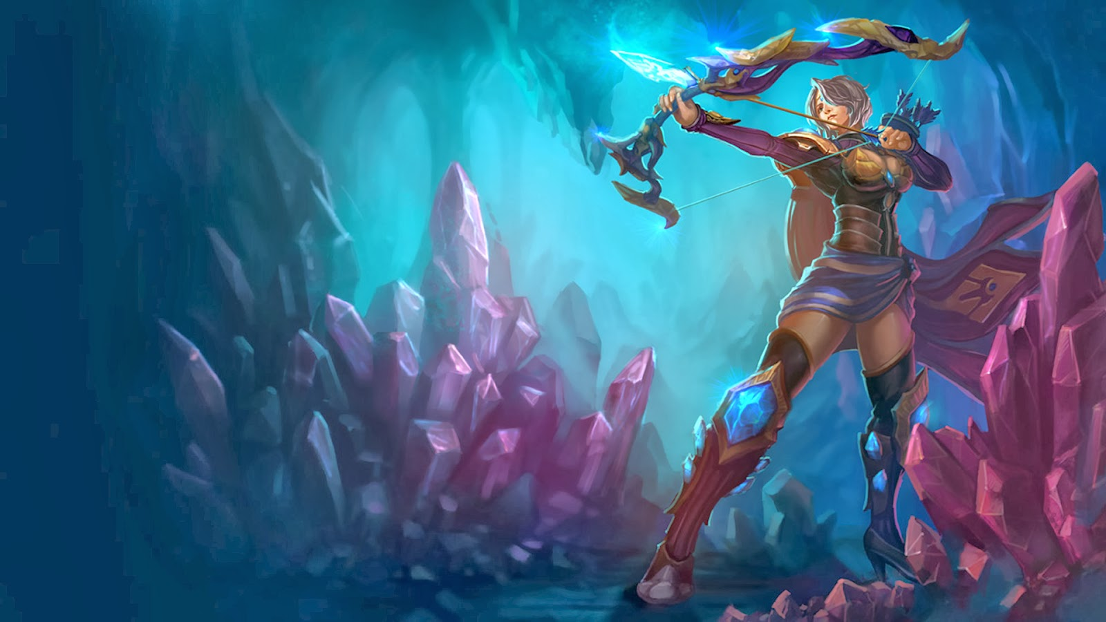 League Of Legends Wallpaper And Cover Photos Blog Ashe League Of