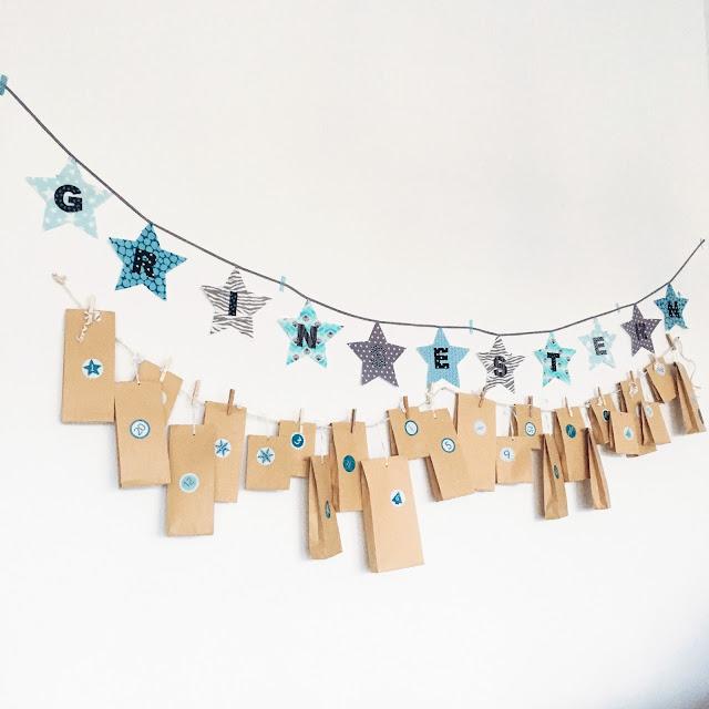 GrinseStern, Adventkalender, DIY, Kalender, Vorbestellung