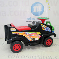 Ride-On Car B&W Super Force Jeep