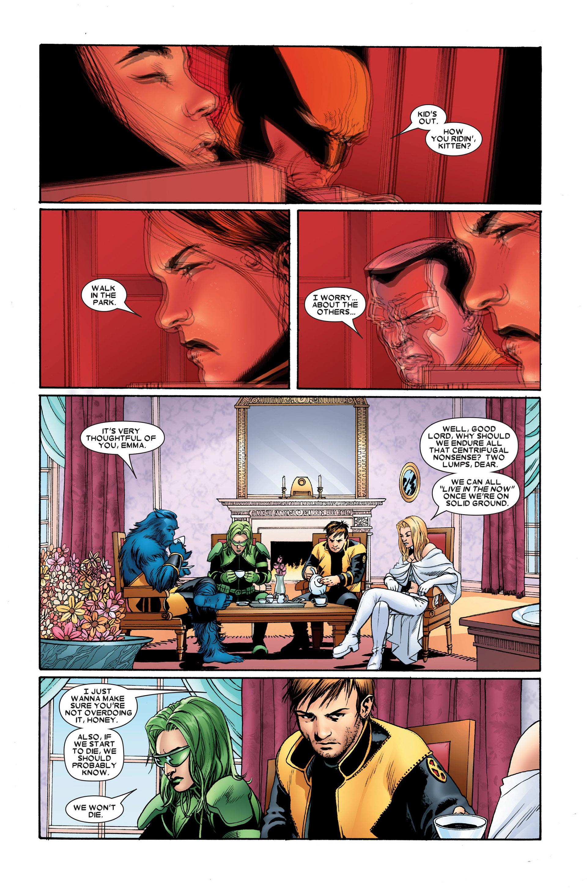 Read online Astonishing X-Men (2004) comic -  Issue #20 - 11