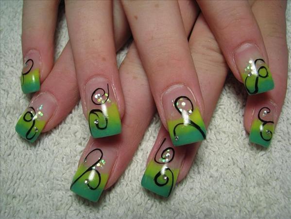 latest nail art design fashion